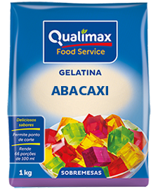 GELATINA ABACAXI QUALIMAX 1 KG