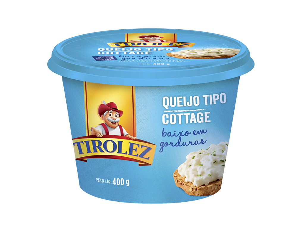 QUEIJO COTTAGE TIROLEZ 400 G