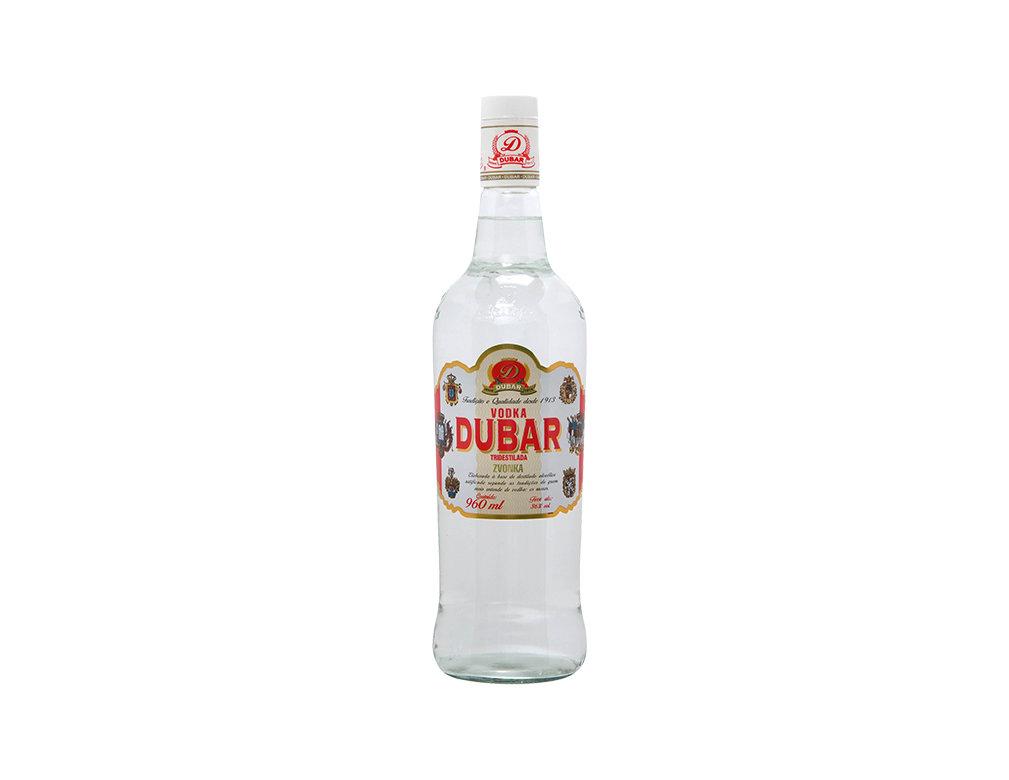 VODKA DUBAR ZVONKA RED 960 ML