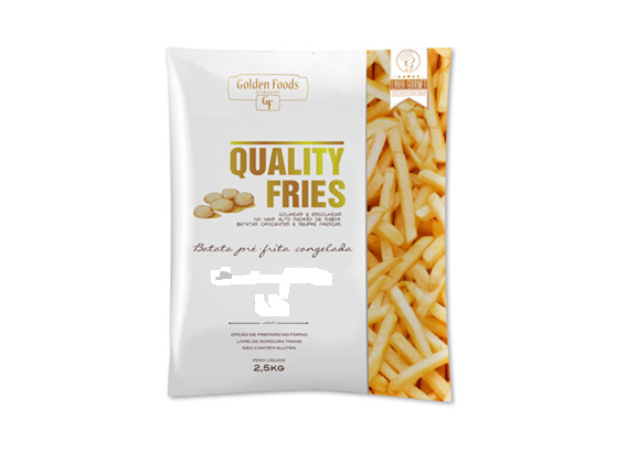 BATATA CONGELADA PALITO 10 MM QUALITY FRIES 2,5 KG