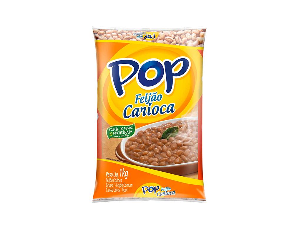 FEIJÃO CARIOCA POP 1 KG
