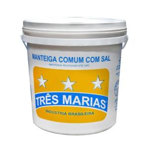 MANTEIGA COM SAL BALDE TRÊS MARIAS