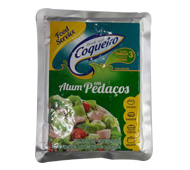 ATUM PEDAÇOS FOOD SERVICE COQUEIRO POUCH 500 G