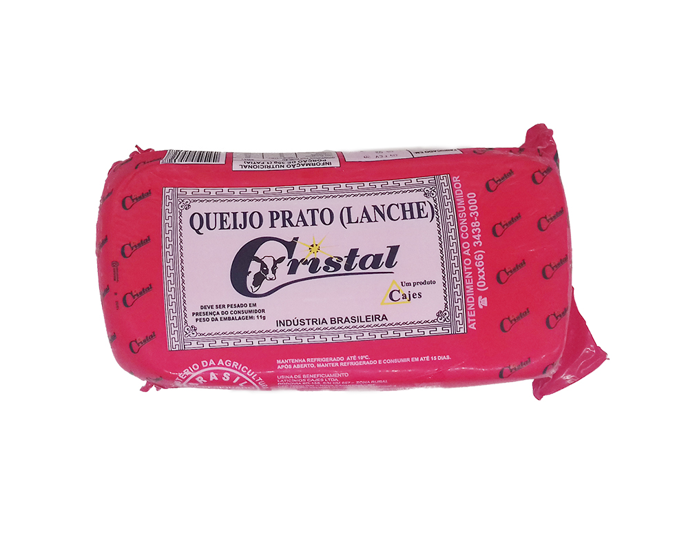 QUEIJO PRATO CRISTAL 3,5 KG