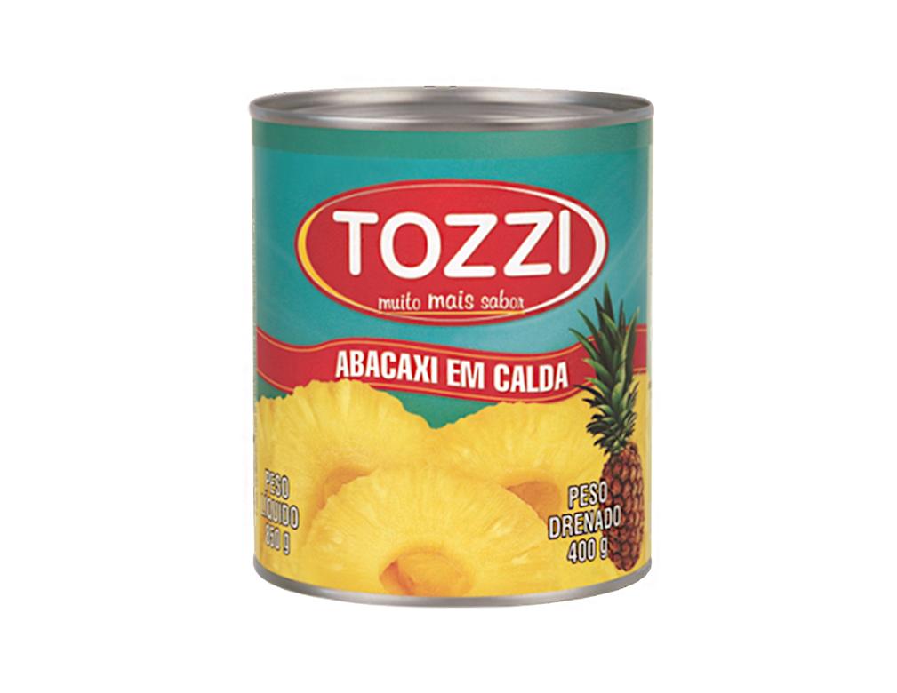 ABACAXI CALDA TOZZI 400 G