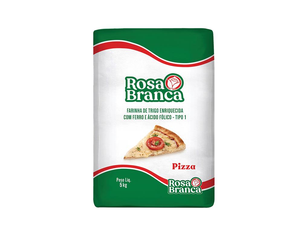 FARINHA DE TRIGO PIZZA ROSA BRANCA 5 KG