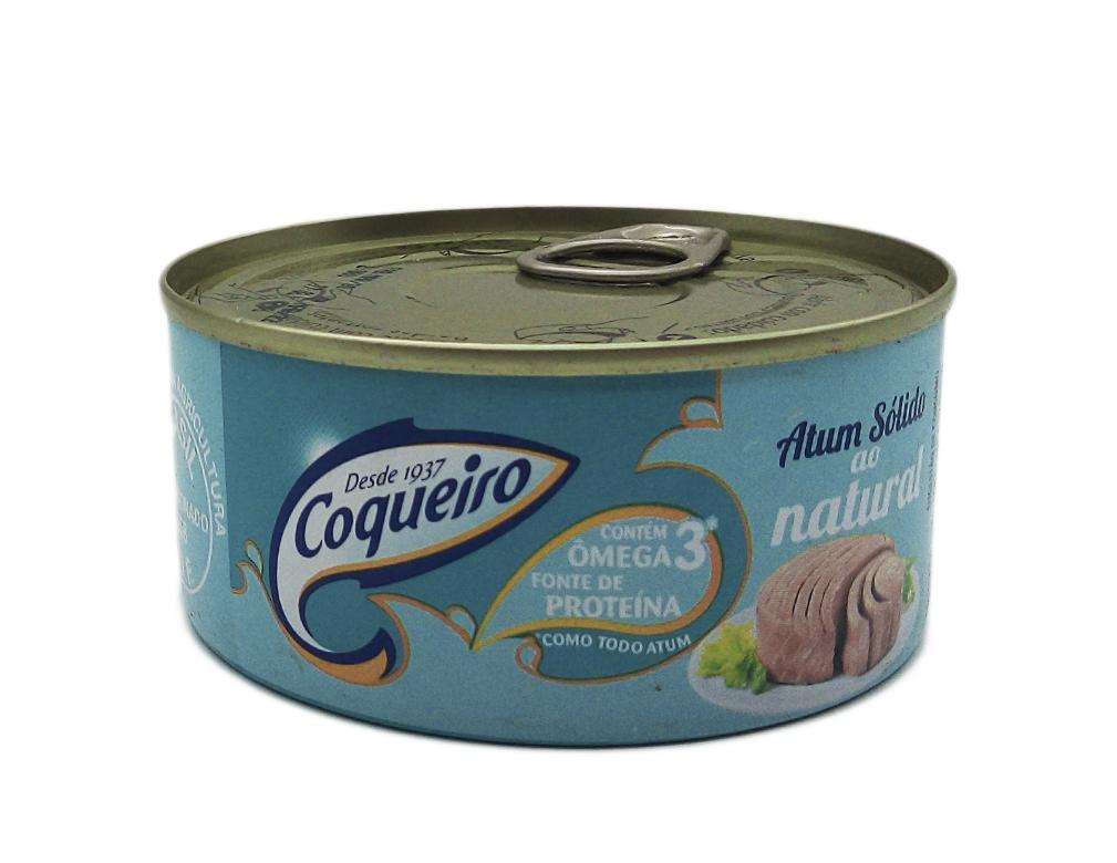 ATUM SÓLIDO NATURAL COQUEIRO 170 G