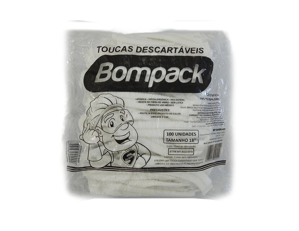 TOUCA DESCARTÁVEL BOMPACK