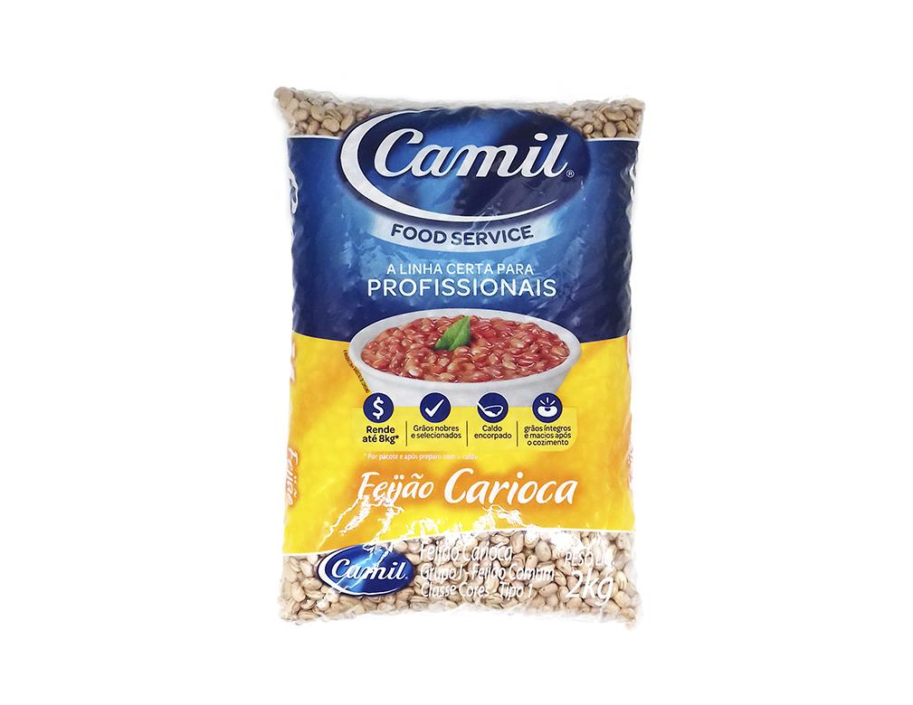 FEIJÃO CARIOCA FOOD SERVICE CAMIL 2 KG