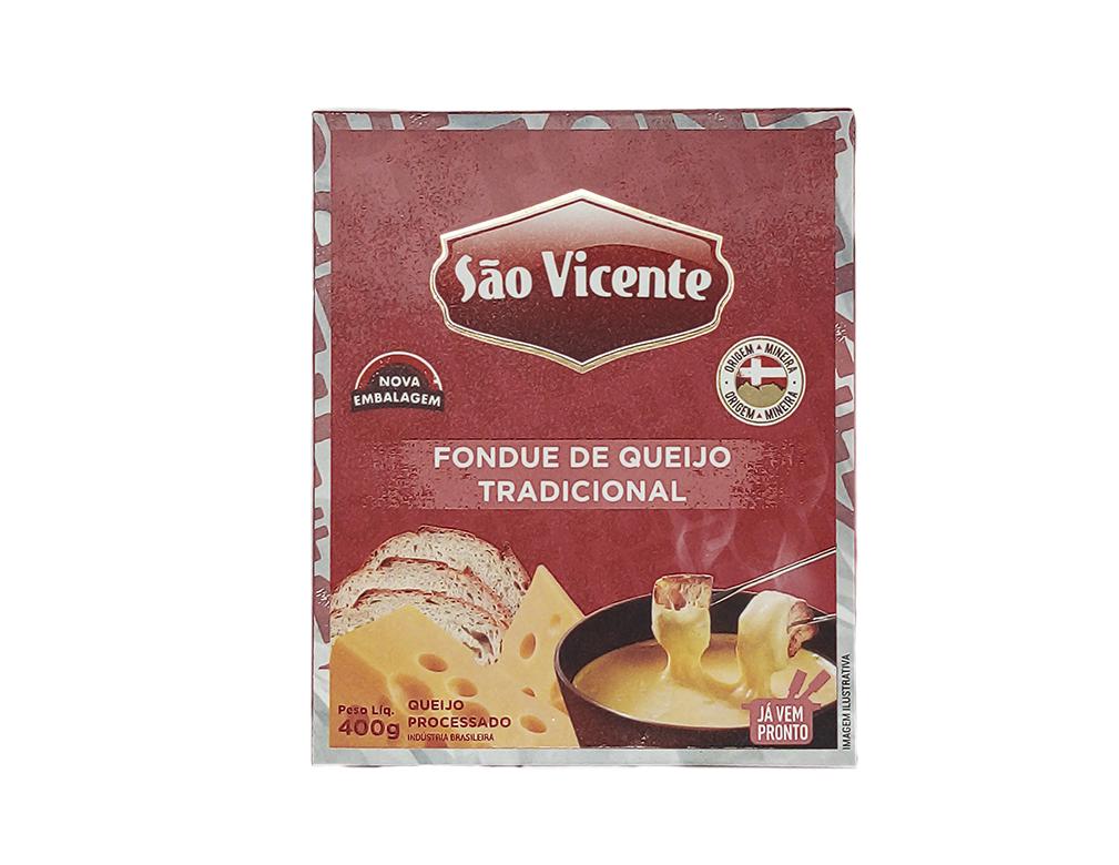 FONDUE DE QUEIJO TRADICIONAL SÃO VICENTE 400 G