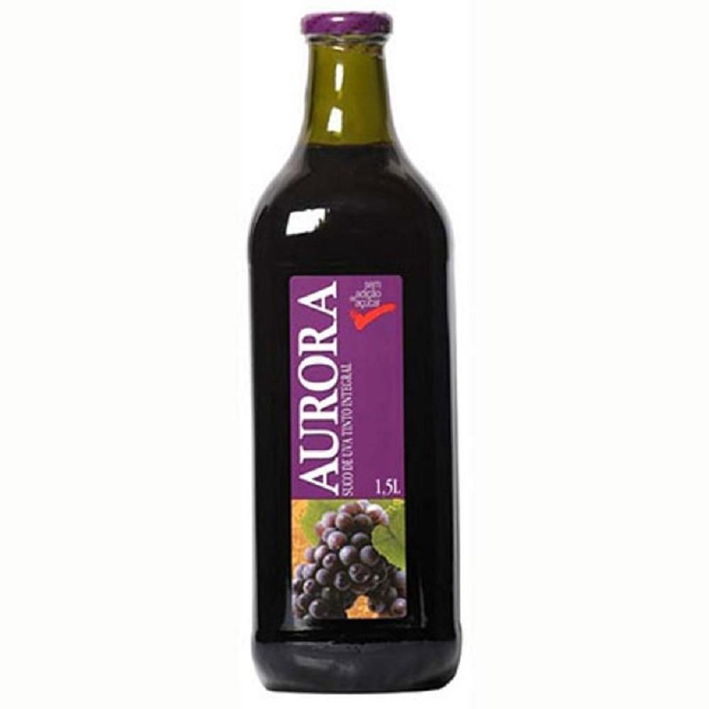 SUCO UVA INTEGRAL AURORA 1,5 L