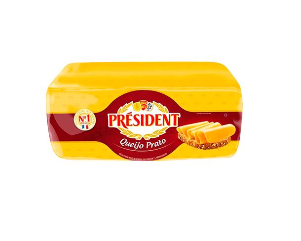 QUEIJO PRATO PRESIDENT 3,5 KG