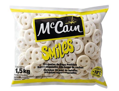 BATATA CONGELADA SMILES SORRISO MCCAIN 1,5 KG