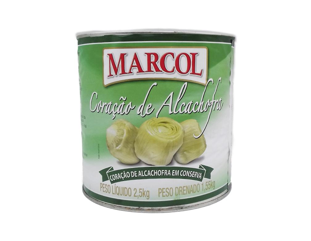 ALCACHOFRA CORAÇÃO INTEIRO MARCOL 2,5 KG