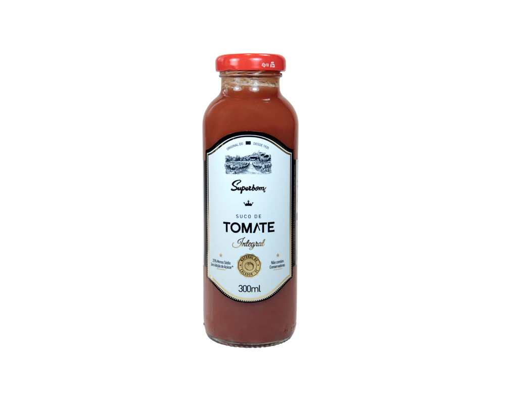 SUCO SUPERBOM INTEGRAL TOMATE 300 ML