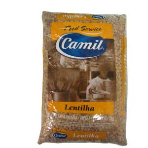LENTILHA FOOD SERVICE CAMIL 2 KG