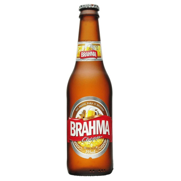 CERVEJA BRAHMA LONG NECK 355 ML