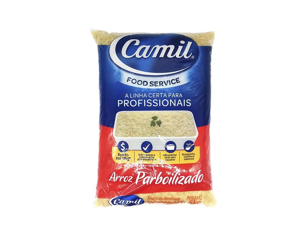 ARROZ PARBOILIZADO FOOD SERVICE CAMIL 5 KG