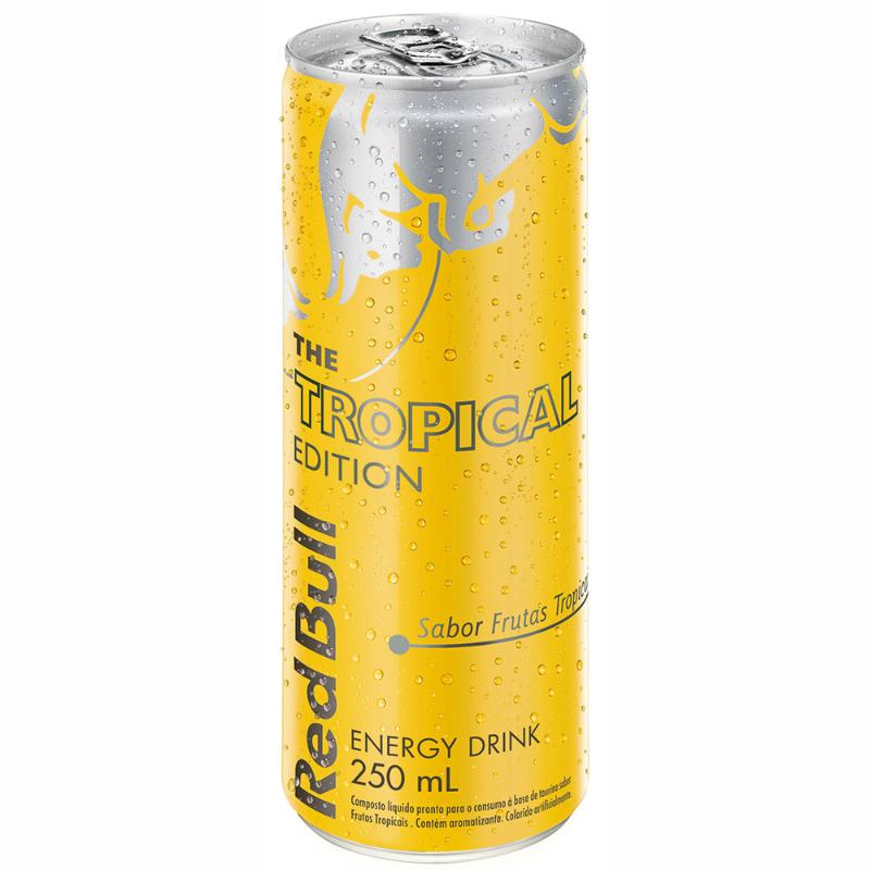 ENERGÉTICO RED BULL TROPICAL EDITION 250 ML