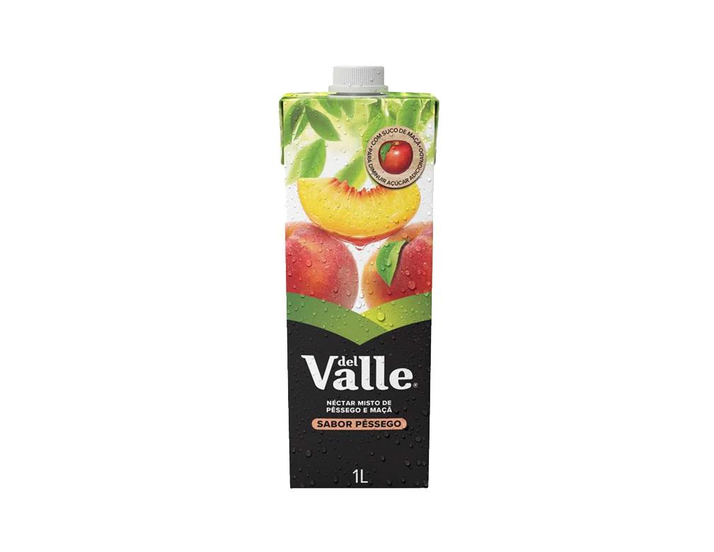 SUCO DEL VALLE PÊSSEGO TETRA PACK 1 L