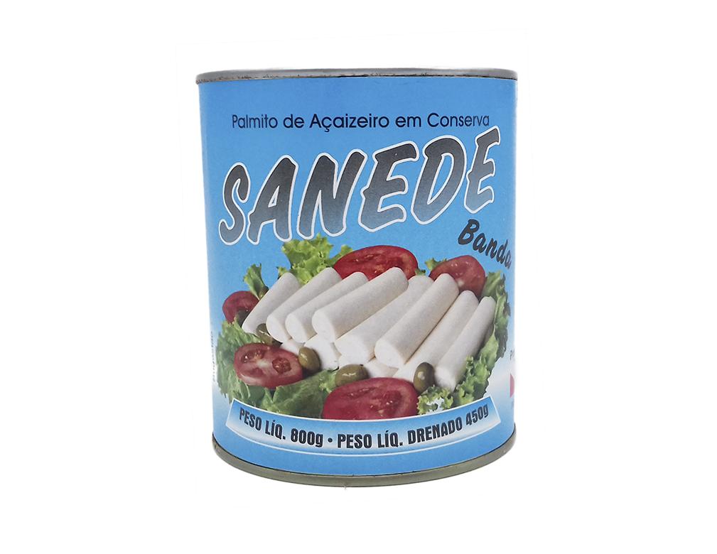 PALMITO BANDA AÇAÍ SANEDE 450 G