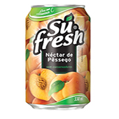 SUCO SUFRESH PÊSSEGO LATA 330 ML