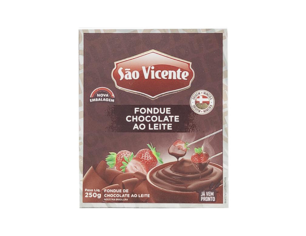 FONDUE DE CHOCOLATE AO LEITE SÃO VICENTE 250 G