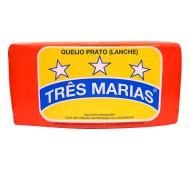 QUEIJO PRATO TRÊS MARIAS 3,5 KG